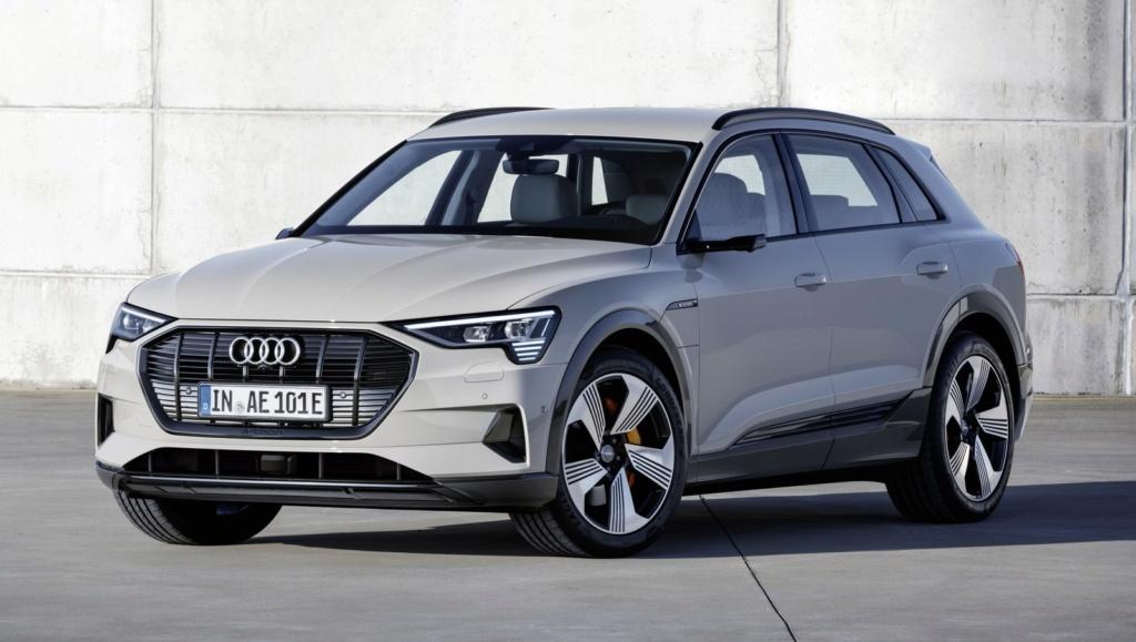E-Tron, 1º carro elétrico da Audi chega em abril; marca vai instalar 200 pontos de recarga no Brasil até 2022 A1811310