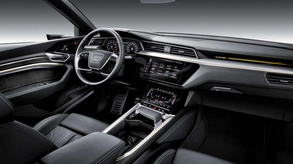 E-Tron, 1º carro elétrico da Audi chega em abril; marca vai instalar 200 pontos de recarga no Brasil até 2022 A1811311