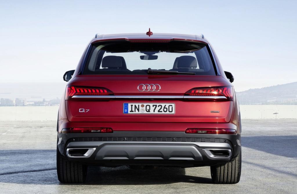 Audi Q7 ganha novo visual e fabricante promete versões híbridas A1981010