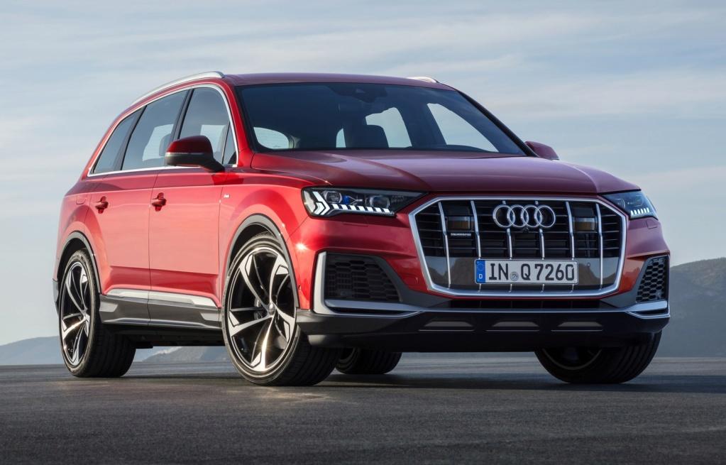 Audi Q7 ganha novo visual e fabricante promete versões híbridas A1981011
