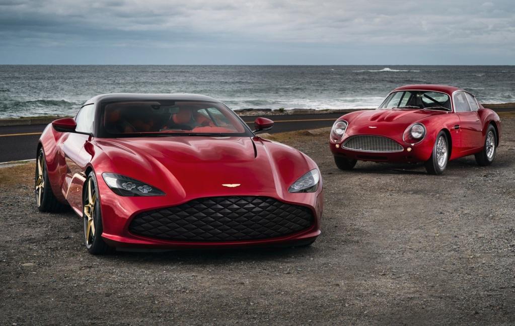 Aston Martin revela novo DBS GT Zagato com 760 cavalos e acabamentos de ouro Aston-10