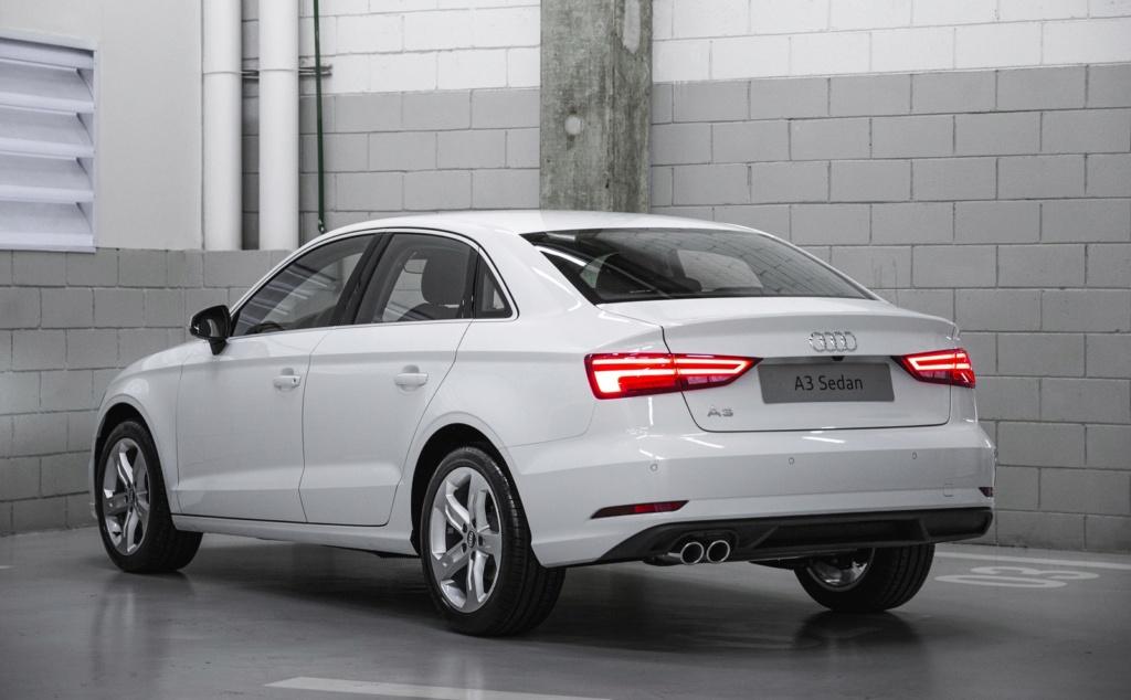 Audi A3 Sedan ganha série limitada comemorativa por R$ 149.990 Audi-a12