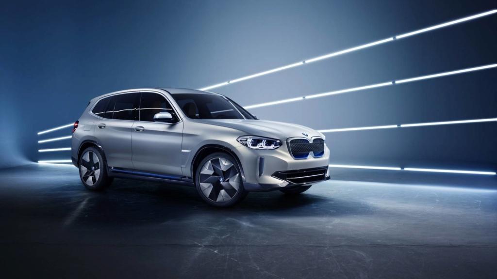 BMW iX3 de produção terá 300 cv de potência e 400 km de autonomia Bmw-ix10