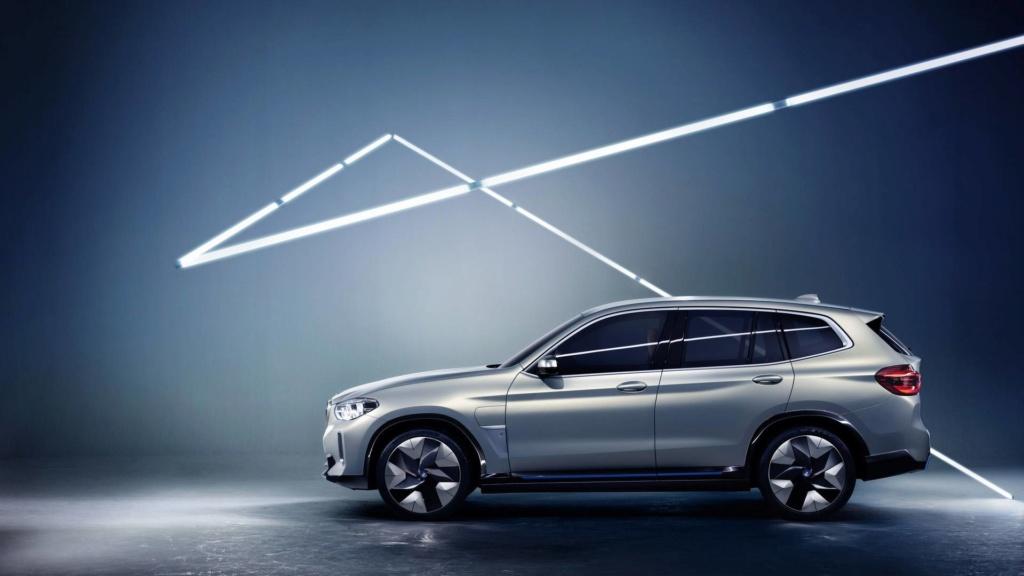 BMW iX3 de produção terá 300 cv de potência e 400 km de autonomia Bmw-ix12