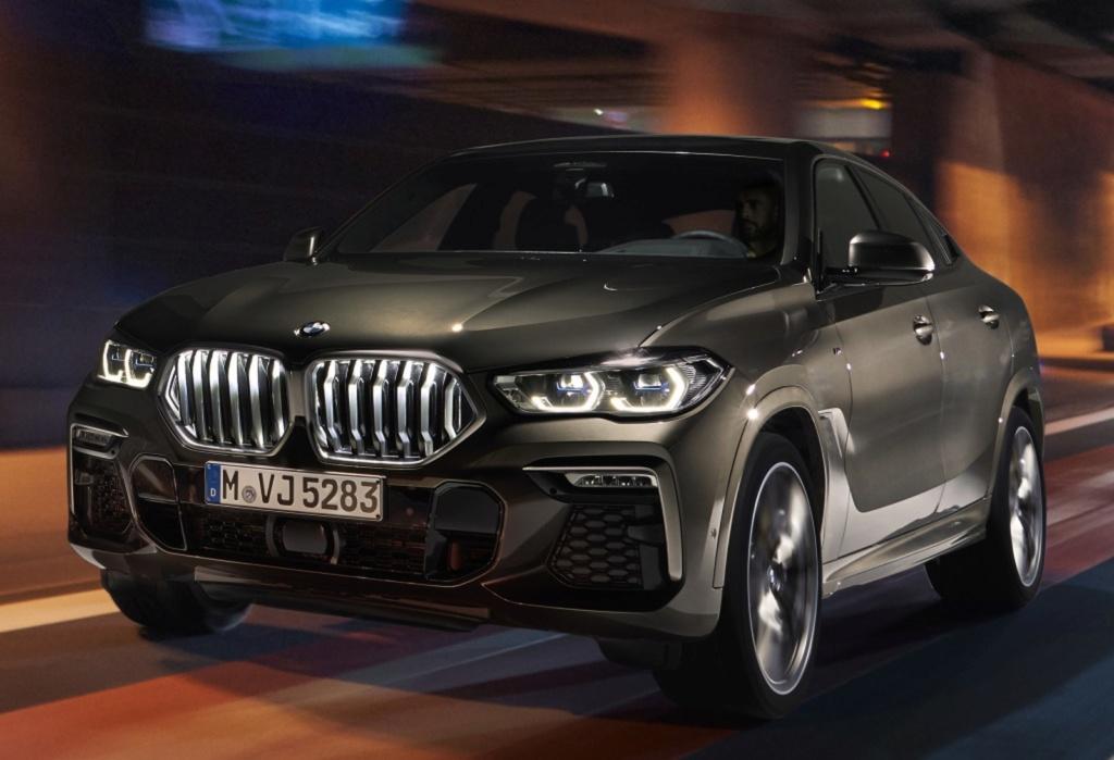 BMW X6 ganha nova geração com grade dianteira iluminada Bmw-x510