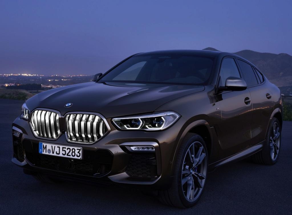 BMW X6 ganha nova geração com grade dianteira iluminada Bmw-x511