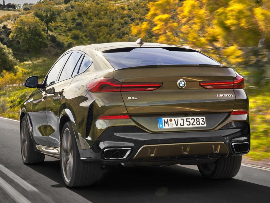 BMW X6 ganha nova geração com grade dianteira iluminada Bmw-x512