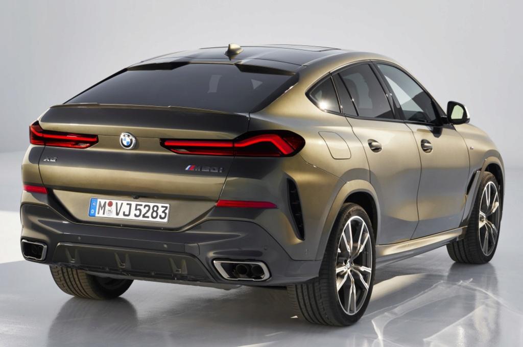 BMW X6 ganha nova geração com grade dianteira iluminada Bmw-x610