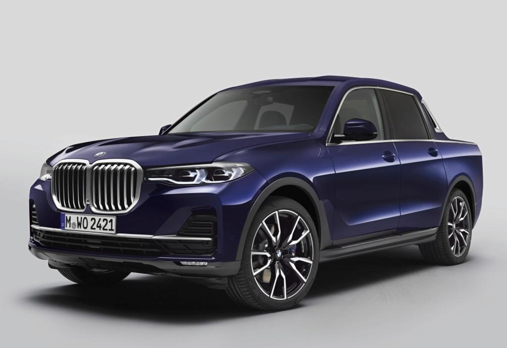 BMW X7 ganha versão picape feita por estagiários da marca Bmw-x710