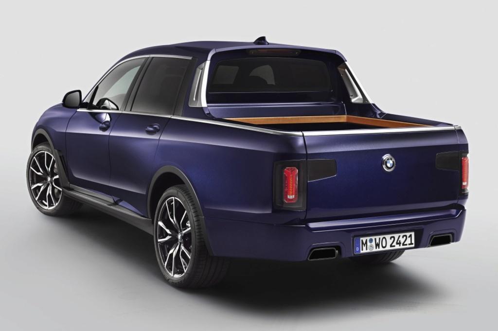 BMW X7 ganha versão picape feita por estagiários da marca Bmw-x711