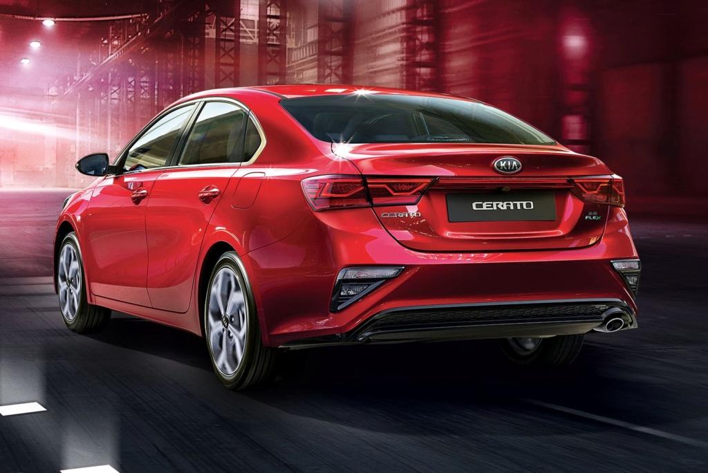 Kia Cerato ganha nova geração com motor 2.0 e parte de R$ 94.990 Cerato12