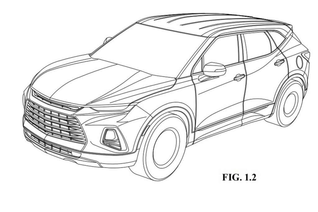Chevrolet registra novo Blazer, o 'SUV do Camaro', no Brasil Chevro26