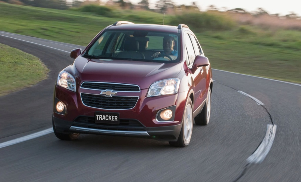 Chevrolet faz novo recall do Tracker por falha na suspensão dianteira Chevro43