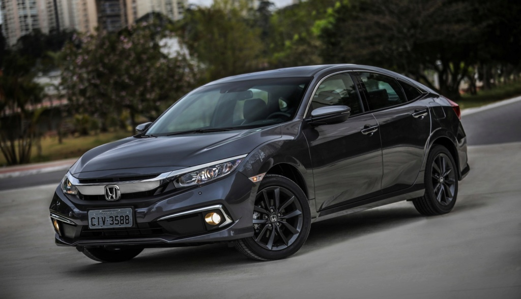 Honda Civic 2020 ganha visual retocado, perde câmbio manual e parte de R$ 97.900 Civic-10
