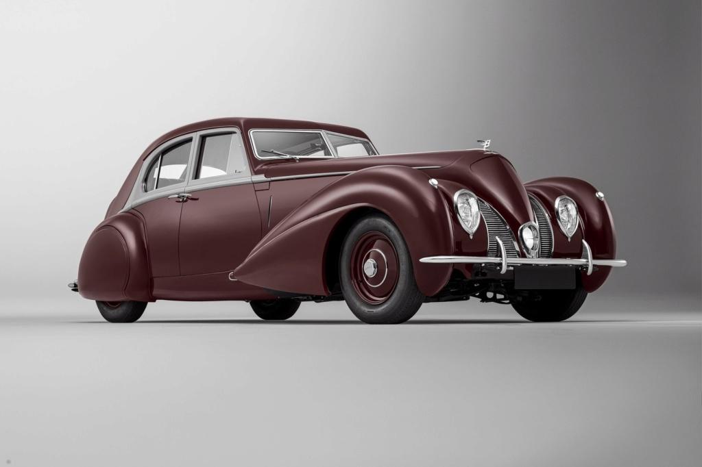 Bentley de 1939 destruído na Segunda Guerra Mundial é reconstruído pela empresa Cornic10