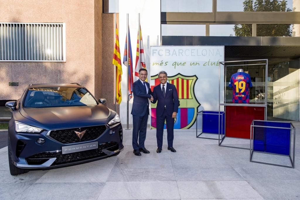 Conheça a Cupra, marca de carros esportivos que substitui a Audi no FC Barcelona Cupra-10