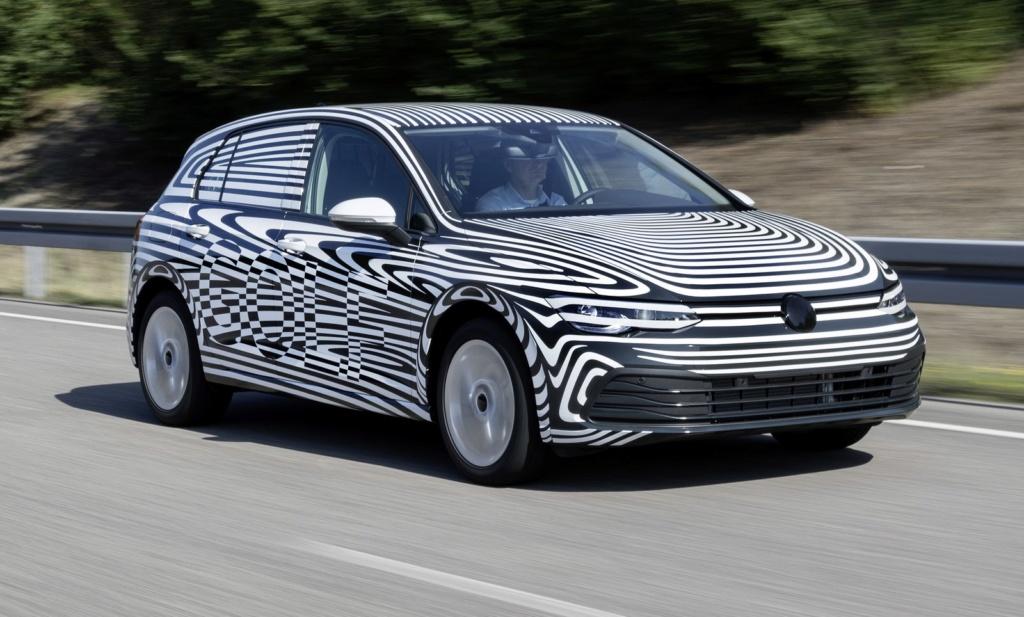 Volkswagen confirma novo Golf para este ano e mostra primeira imagem Db201914