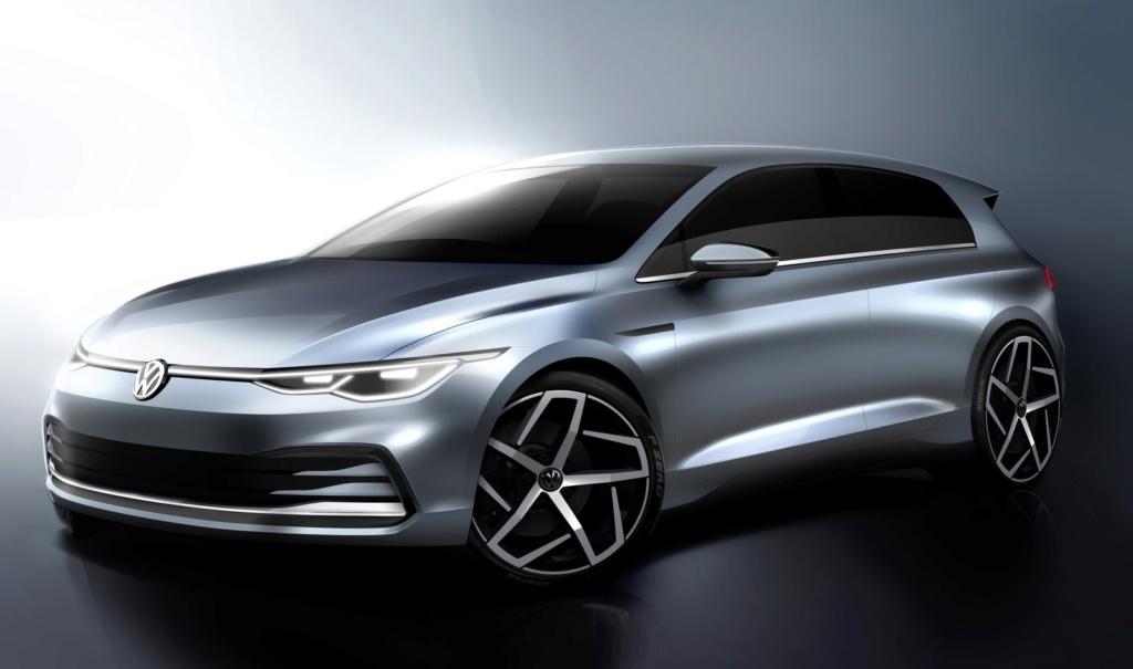 Volkswagen Golf tem visual da nova geração revelado Db201916
