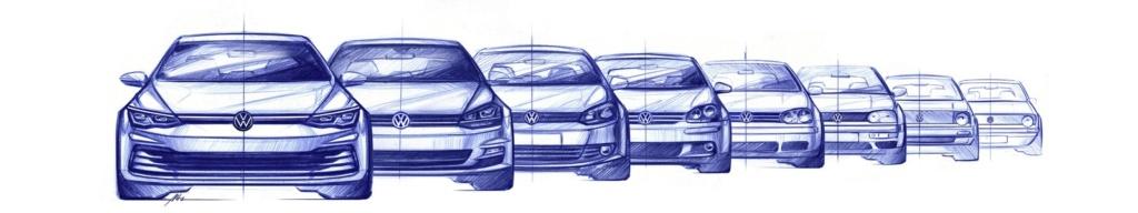Volkswagen Golf tem visual da nova geração revelado Db201919