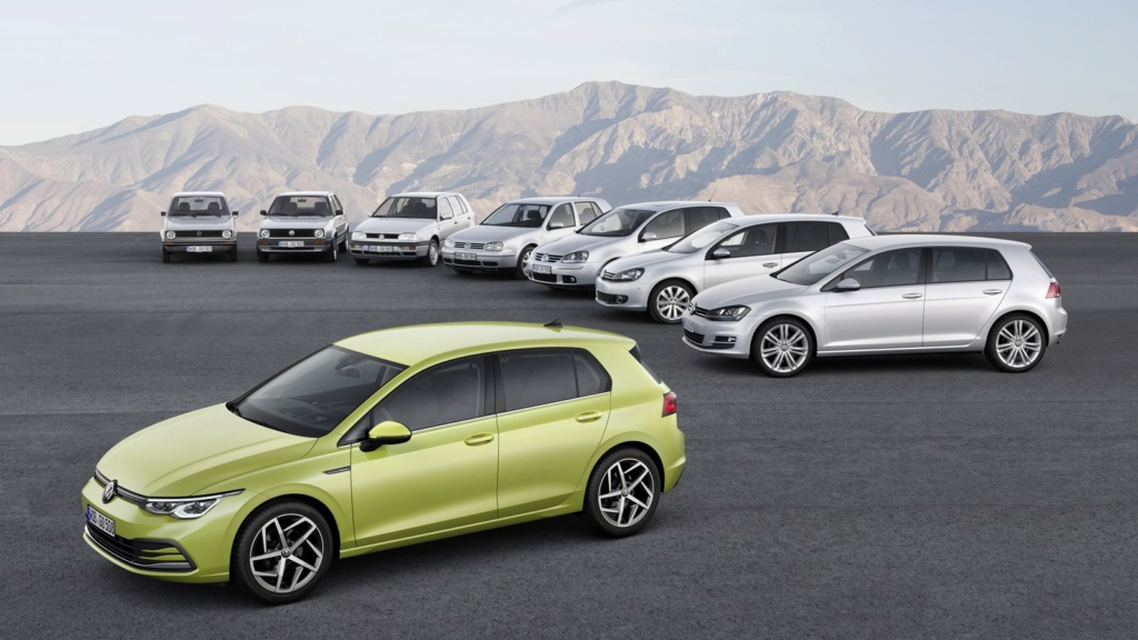 Volkswagen Golf: nova geração é revelada na Alemanha Db201920