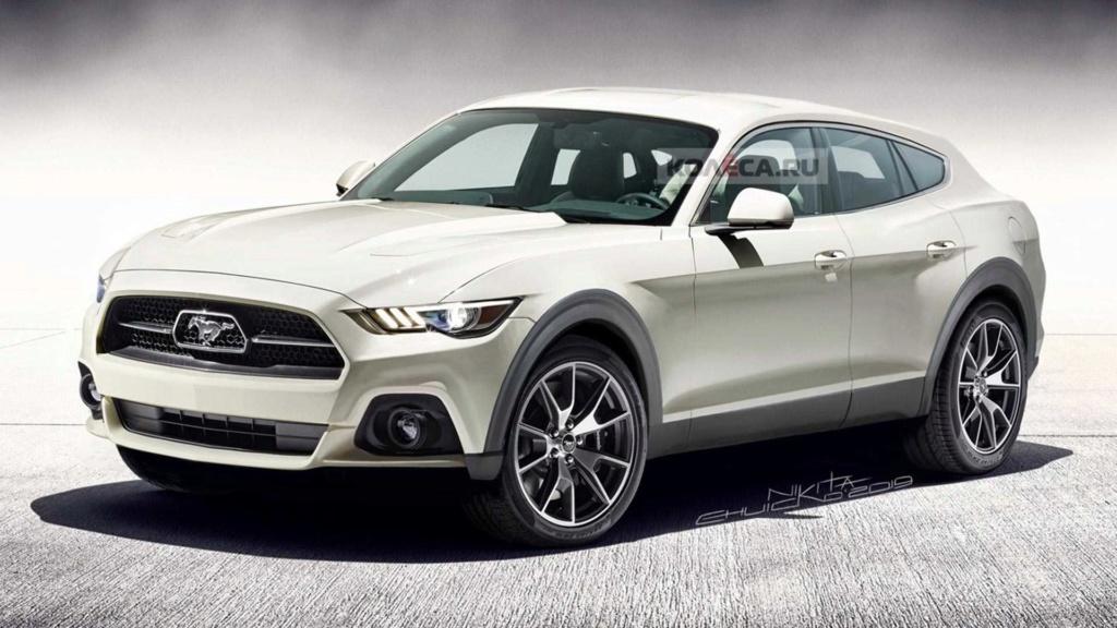 Veja como pode ficar o Ford Mustang Crossover Ford-m10