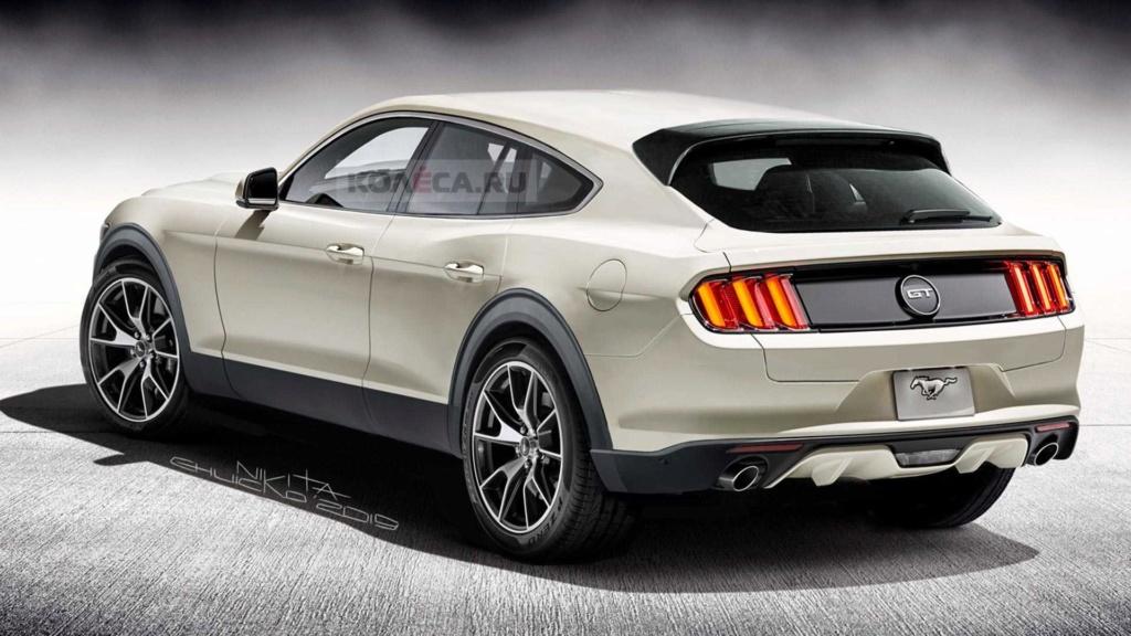 Veja como pode ficar o Ford Mustang Crossover Ford-m11