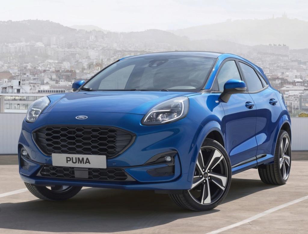 Ford Puma renasce como SUV 'híbrido' e tecnológico Ford-p10