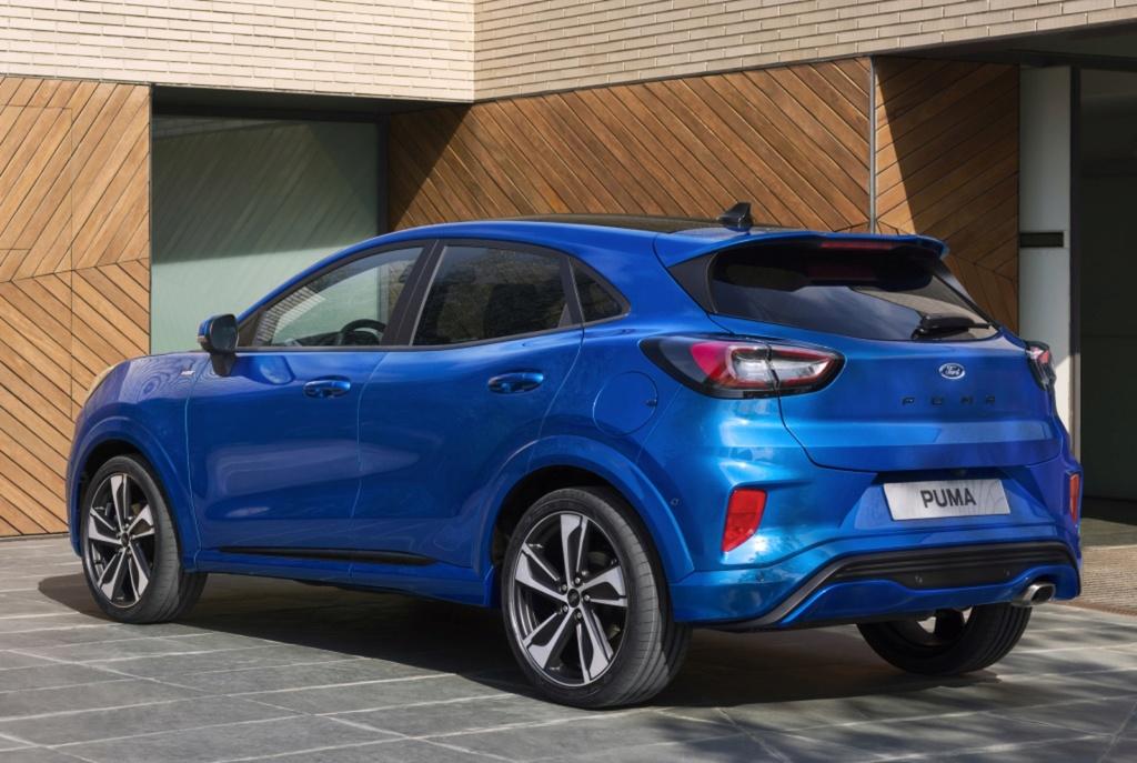 Ford Puma renasce como SUV 'híbrido' e tecnológico Ford-p11