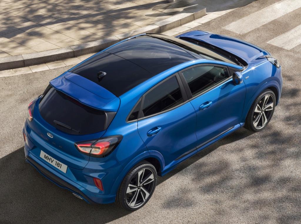 Ford Puma renasce como SUV 'híbrido' e tecnológico Ford-p12