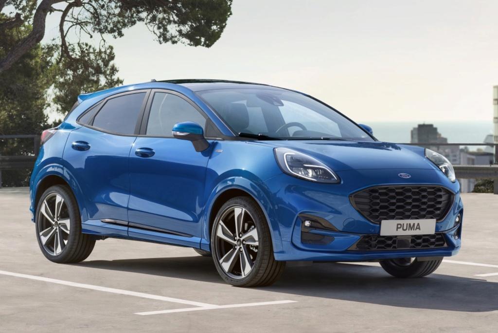 Ford Puma renasce como SUV 'híbrido' e tecnológico Ford-p13
