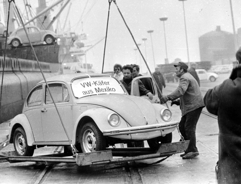Volkswagen encerra produção mundial do Fusca; veja como foi a despedida Fusca-13