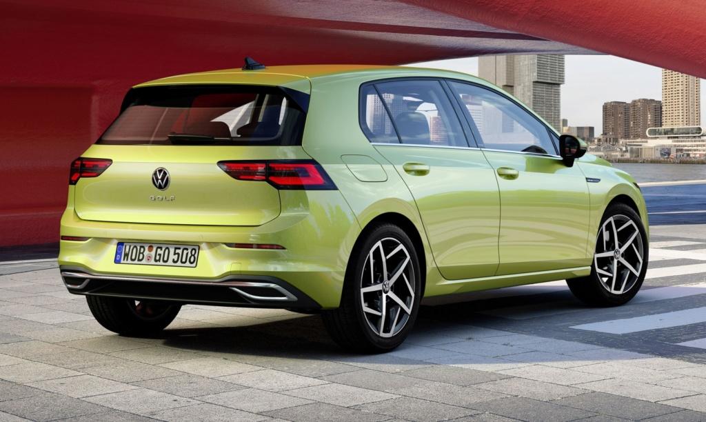 Volkswagen Golf: nova geração é revelada na Alemanha Golf-810