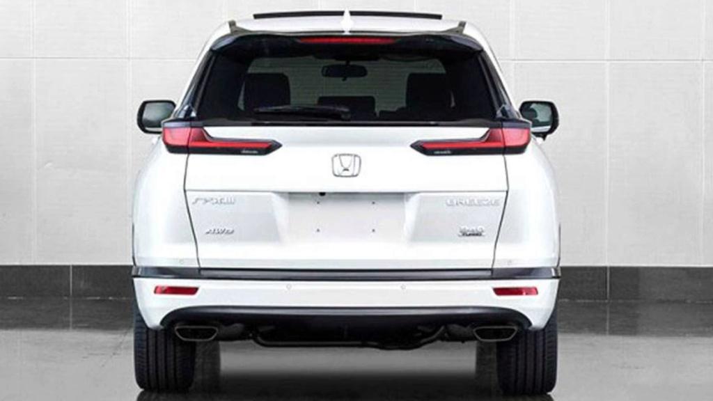 Honda Breeze: conheça o CR-V com cara de Civic exclusivo da China Honda-33