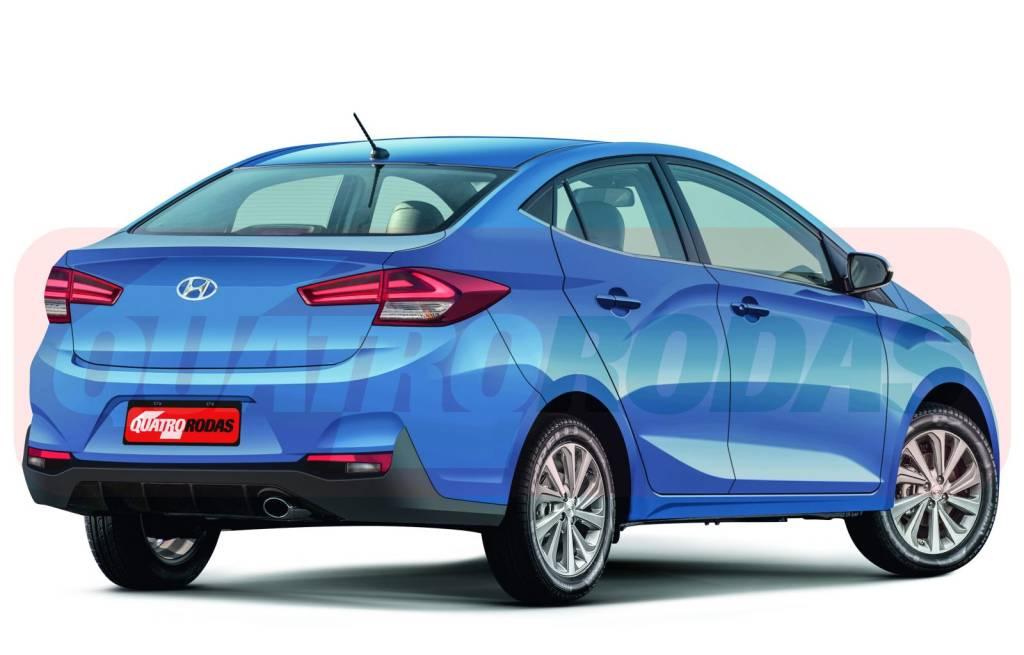Segredo: Hyundai HB20S ganhará traços de Elantra em reestilização Hyunda12