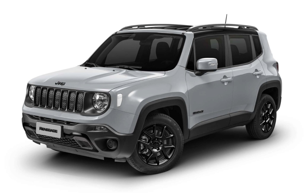 Jeep Renegade ganha visual 'dark' com kit Night Eagle por R$ 92.020 Imagem10