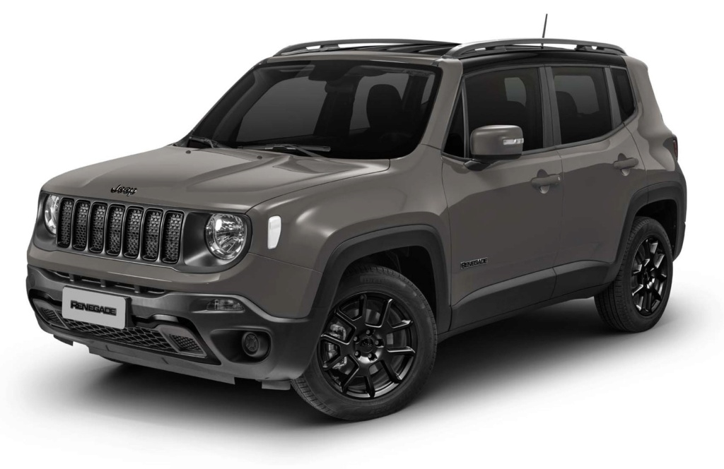 Jeep Renegade ganha visual 'dark' com kit Night Eagle por R$ 92.020 Imagem11