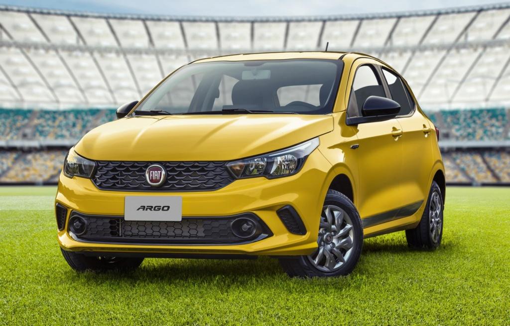 Fiat apresenta Argo Seleção, série limitada a 1,5 mil unidades Imagem17
