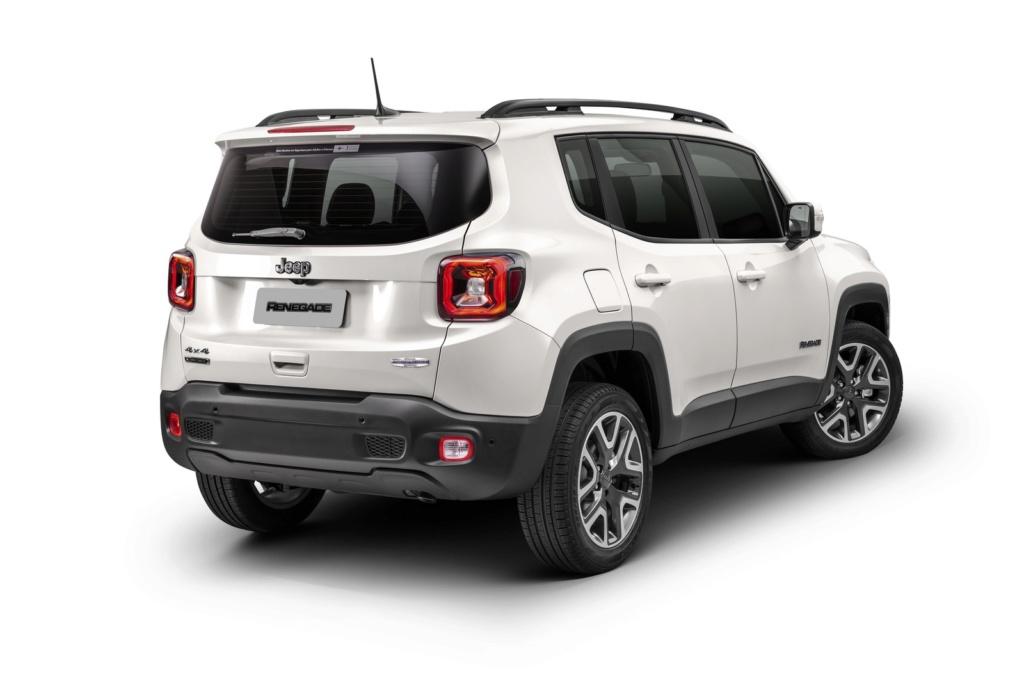 Jeep Renegade 2020 perde câmbio manual e parte de R$ 89.990 Imagem33