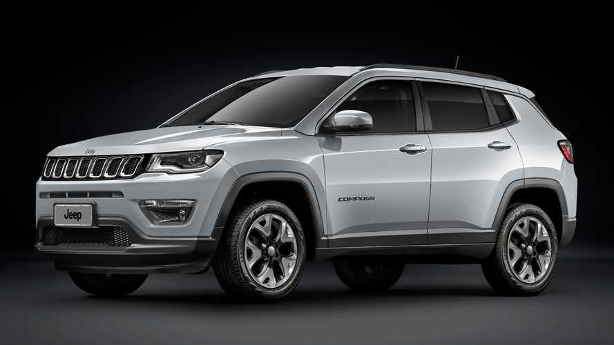 Compass perde vendas e puxa segmento 25% para baixo; veja ranking Jeep-c10