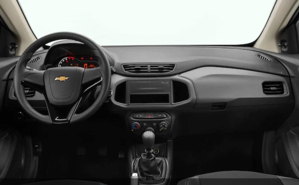 Chevrolet Joy Plus chega por R$ 51.120 e aposenta o nome Prisma Joy-pl11
