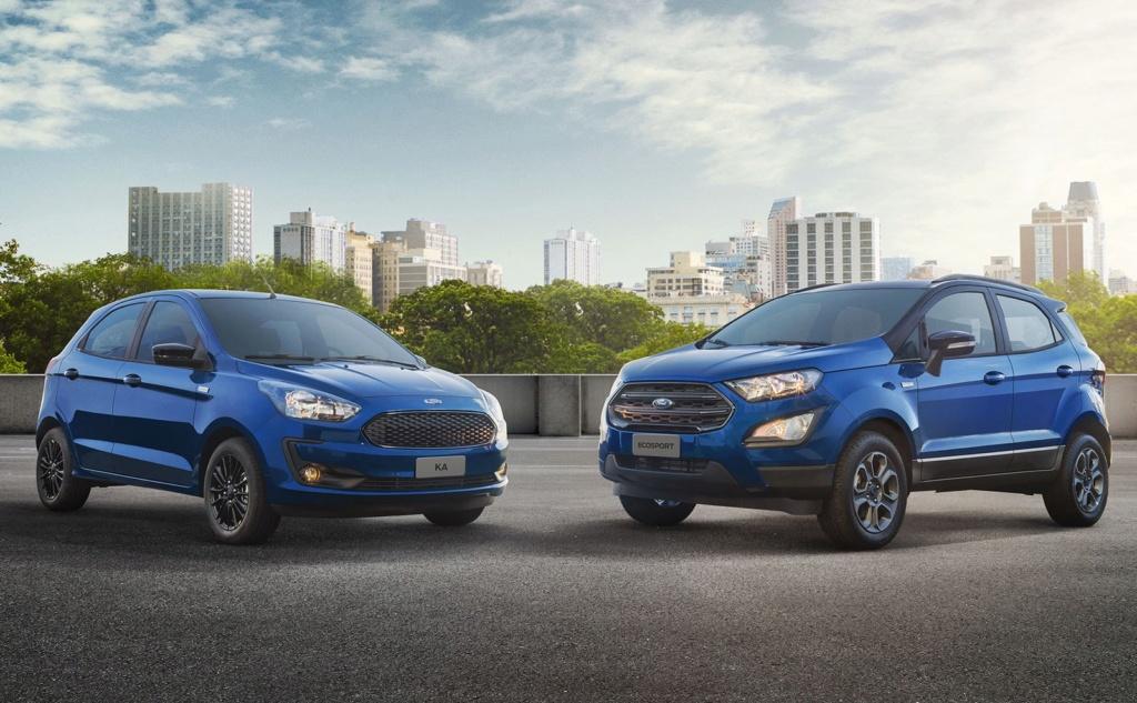 Ford Ka e EcoSport ganham série limitada Ka-eco10