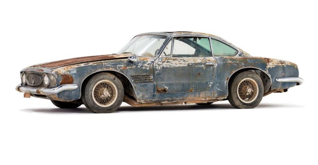 Maserati enferrujada de 1961 é leiloada por R$ 2,2 milhões Masera11