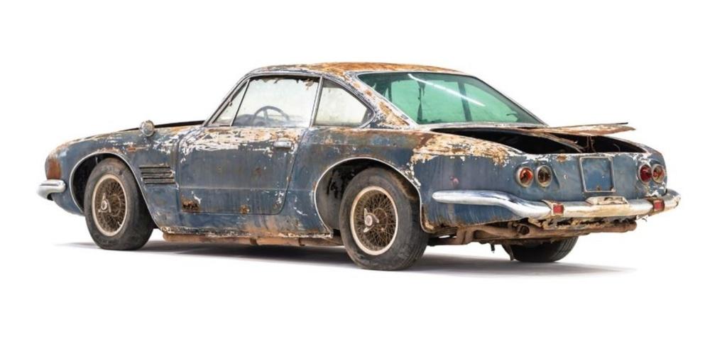 Maserati enferrujada de 1961 é leiloada por R$ 2,2 milhões Masera13