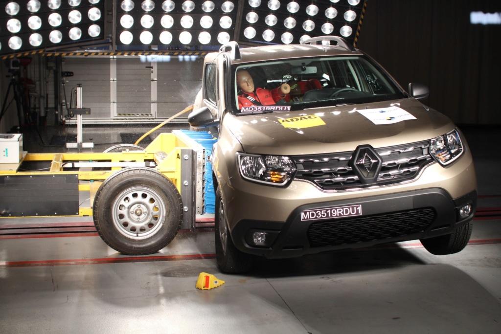 Novo Renault Duster recebe 4 estrelas em testes de colisão do Latin NCap Md351910