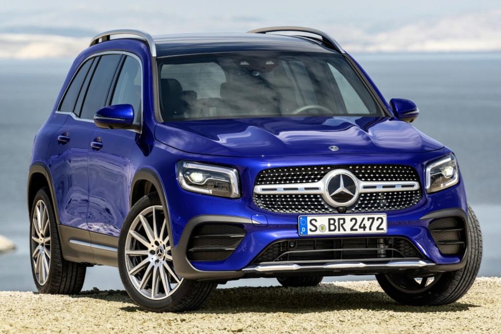 Mercedes-Benz revela o GLB, SUV intermediário de 7 lugares Merced17