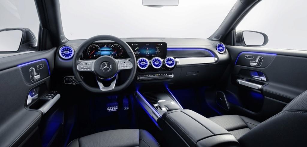 Mercedes-Benz revela o GLB, SUV intermediário de 7 lugares Merced19
