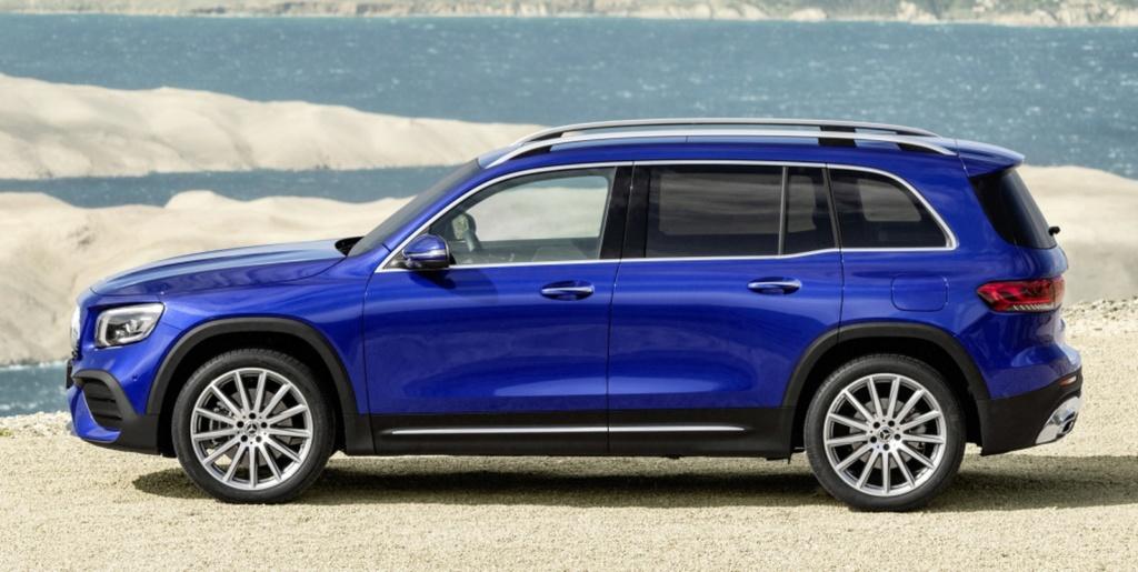 Mercedes-Benz revela o GLB, SUV intermediário de 7 lugares Merced21