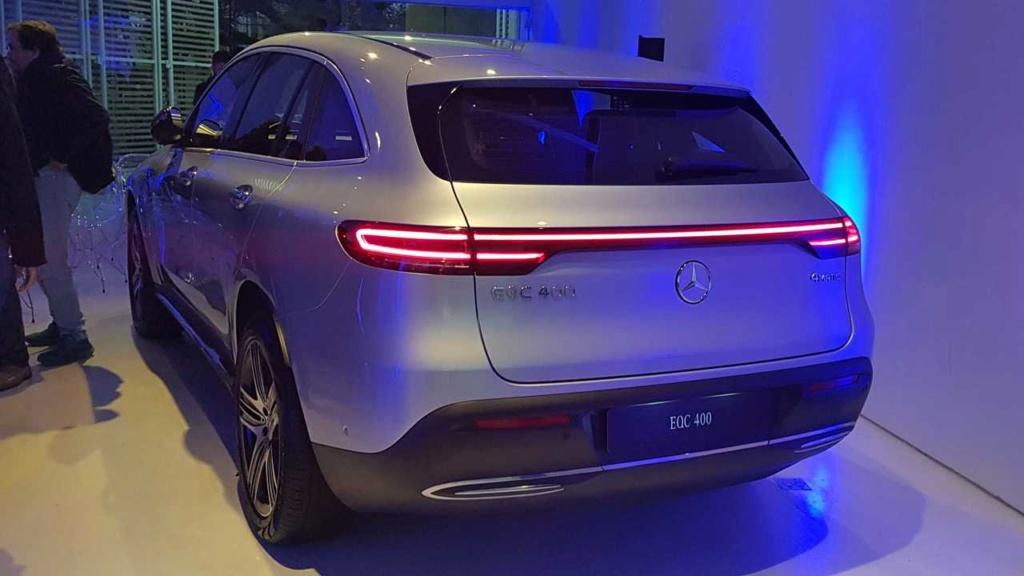 Elétrico Mercedes-Benz EQC é confirmado para 2020 no Brasil Merced23