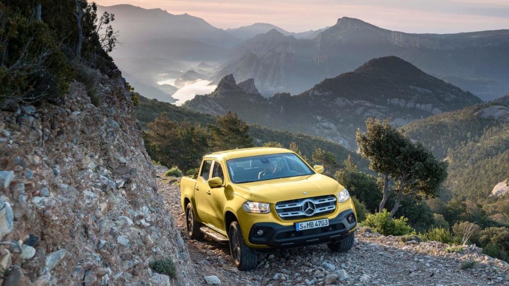 Mercedes admite que vendas da picape Classe X estão abaixo do esperado Merced36