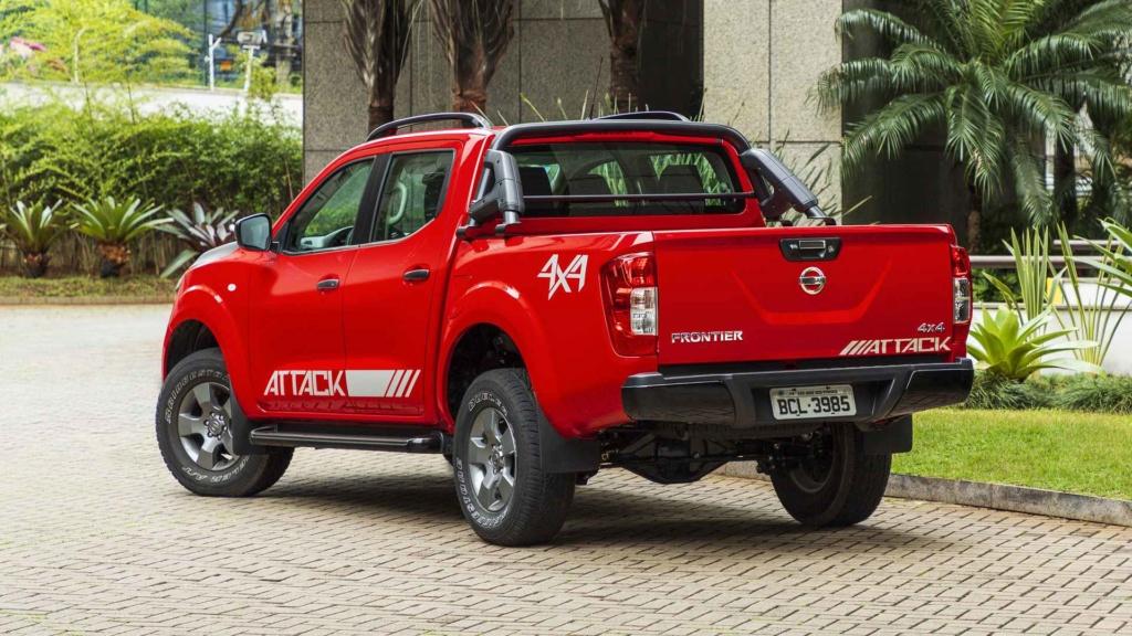 Nissan Frontier fica até R$ 2.000 mais cara nas versões básicas Nissan17
